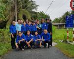 Chi đoàn Sở Công Thương thực hiện phong trào  hưởng ứng Ngày môi trường thế giới năm 2020
