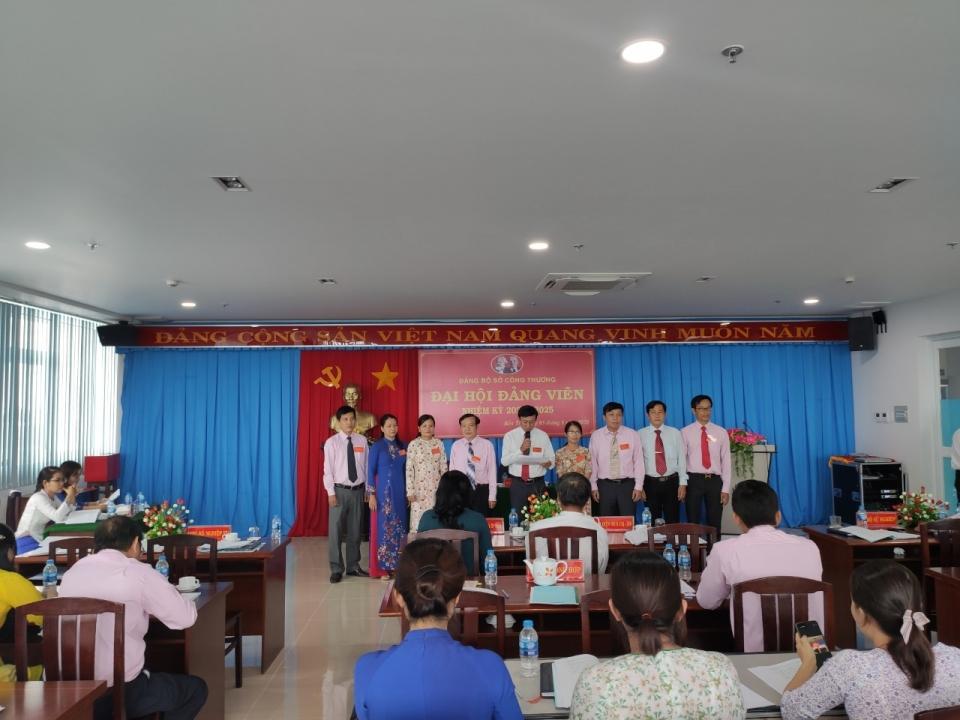 Đại hội Đảng bộ Sở Công Thương lần thứ X, nhiệm kỳ 2020 - 2025