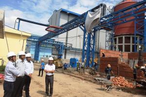 Bến Tre sắp hoàn thành Nhà máy sản xuất hơi điện