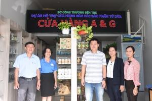 """Tiếp tục thực hiện Dự án """"Hỗ trợ đầu tư cửa hàng bán các sản phẩm từ dừa tỉnh Bến Tre"""""""