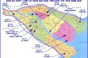 Rà soát nhu cầu đầu tư và đề xuất giải pháp phát triển các cụm công nghiệp trên địa bàn tỉnh Bến Tre
