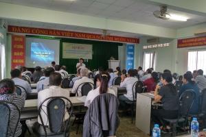 Sở Công Thương Bến Tre tổ chức tập huấn công tác Bảo vệ Môi trường, Phòng chống thiên tai và ứng phó biến đổi khí hậu năm 2019