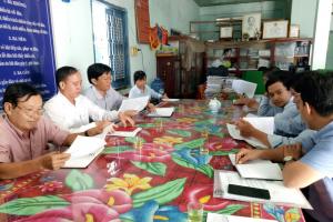 Khảo sát tình hình các cụm công nghiệp trên địa bàn huyện Ba Tri