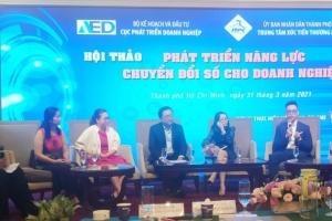 Hội thảo Phát triển năng lực chuyển đổi số cho doanh nghiệp tại Thành phố Hồ Chí Minh