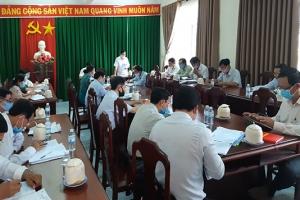 Ban Thường vụ Tỉnh ủy kiểm tra công tác chuẩn bị Đại hội tại huyện Ba Tri