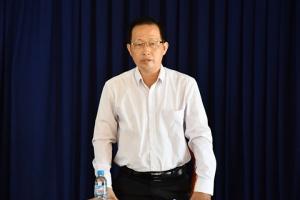 Bí thư Tỉnh ủy Phan Văn Mãi kiểm tra tiến độ xây dựng Dự án đầu tư xây dựng cơ sở hạ tầng khu công nghiệp Phú Thuận