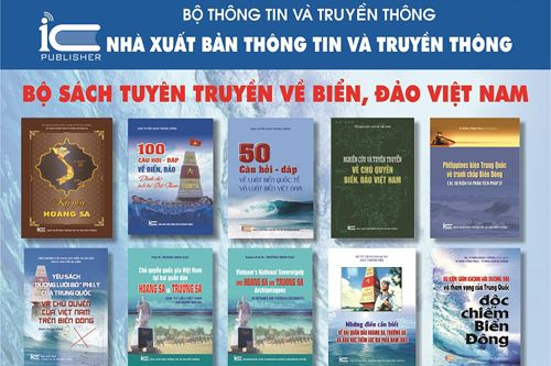 NXB Thông tin và Truyền thông xuất bản Bộ sách tuyền truyền về biển, đảo Việt Nam