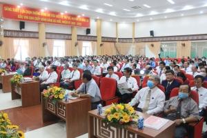 Đại hội Đảng bộ Khối Cơ quan - Doanh nghiệp tỉnh Bến Tre, nhiệm kỳ 2020-2025