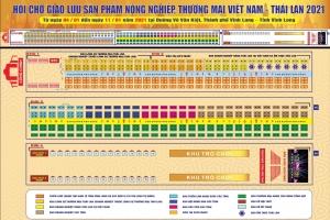 Mời tham gia Hội chợ giao lưu sản phẩm Nông Nghiệp, Thương Mại Việt Nam – Thái Lan năm 2021