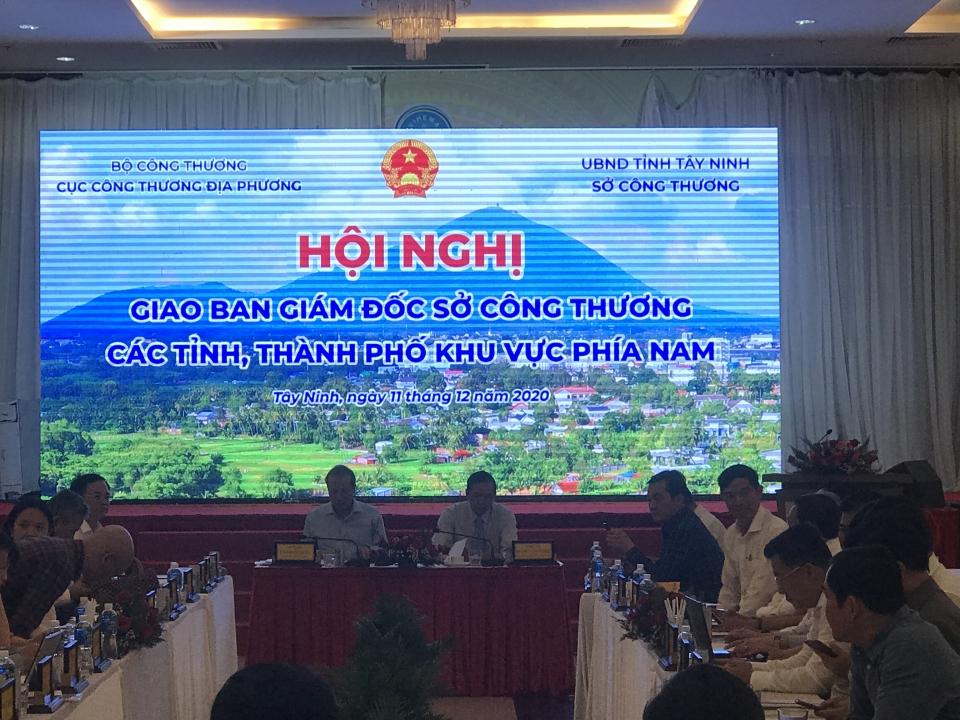Hội nghị Giao ban Giám đốc các Sở Công thương khu vực phía Nam