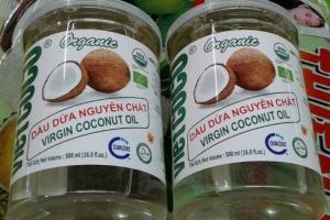 Giá cả thị trường dầu dừa và các sản phẩm dừa tuyển chọn tháng 7/2020