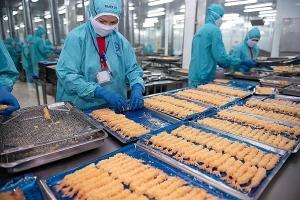 Hiệu ứng từ các FTA giúp xuất khẩu tôm liên tục bứt phá