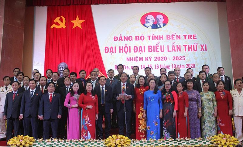 Kết quả Đại hội XI Đảng bộ tỉnh Bến Tre
