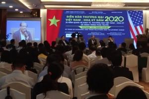 Diễn đàn thương mại Việt Nam – Hoa Kỳ năm 2020: 25 năm quan hệ kinh tế, thương mại Việt Nam – Hoa Kỳ và hành trình phía trước