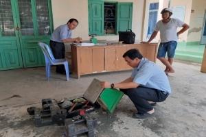 Thạnh Phú: Kiểm định cân thông dụng cho các cơ sở, hộ kinh doanh