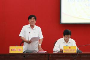 Văn phòng UBND tỉnh tổ chức Hội nghị lấy ý kiến cử tri đối với người ứng cử đại biểu Quốc hội khóa XV và đại biểu HĐND tỉnh nhiệm kỳ 2021-2026