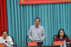 Họp Ủy ban bầu cử tỉnh lần thứ 3
