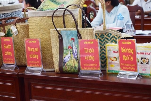 Hỗ trợ tiêu thụ sản phẩm OCOP và sản phẩm công nghiệp nông thôn tiêu biểu tỉnh Kiên Giang