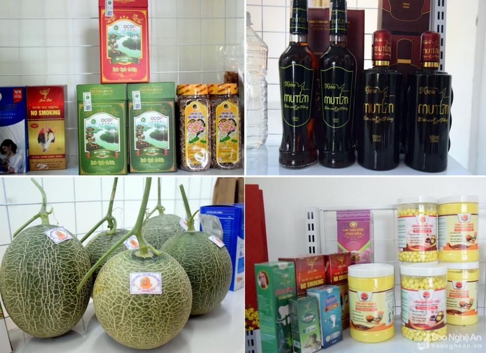 Hỗ trợ tiêu thụ sản phẩm đạt chứng nhận OCOP tỉnh Nghệ An