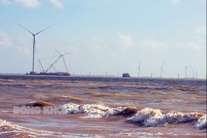 Đẩy nhanh tiến độ các dự án điện gió