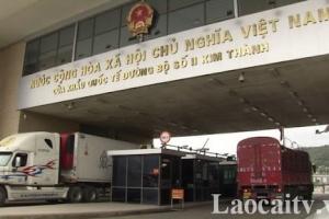 Lào Cai: Thắt chặt quản lý người, phương tiện ra, vào và hoạt động tại cửa khẩu quốc tế đường bộ số II Kim Thành và các khu công nghiệp