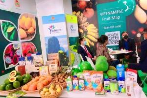 """Sản phẩm Bến Tre tham gia """"Hội chợ trái cây và rau quả quốc tế - Macfruit 2021"""" – Cơ hội và thách thức."""