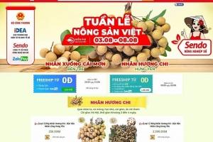 Nông sản Việt tăng doanh thu qua sàn thương mại điện tử