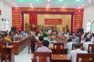 Huyện Ủy Thạnh Phú tổ chức họp mặt doanh nghiệp nhân kỷ niệm Ngày Doanh nhân Việt Nam 13/10