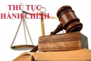 Thủ tục hành chính thuộc thẩm quyền giải quyết của Sở Công Thương Bến Tre