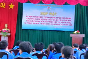 Chi đoàn Sở Công Thương tham gia hoạt động kỷ niệm 88 năm Ngày thành lập Đoàn thanh niên cộng sản Hồ Chí Minh