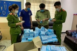 Phát hiện hàng nghìn khẩu trang kháng khuẩn chưa được kiểm nghiệm