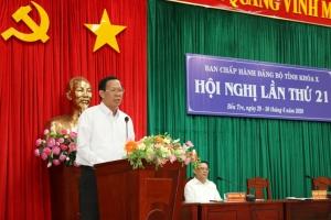 Hội nghị Tỉnh ủy lần thứ 21